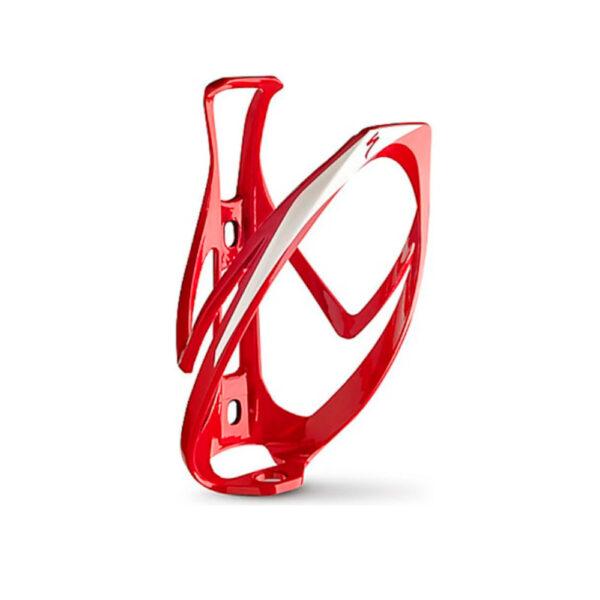 Suporte de caramanhola specialized rib cage II Vermelho/branco