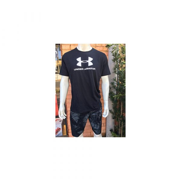 Camiseta Under Armour Sportstyle+ Shorts Project Rock 1