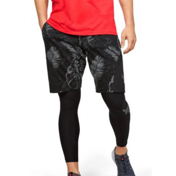 Camiseta Under Armour Sportstyle+ Shorts Project Rock 2