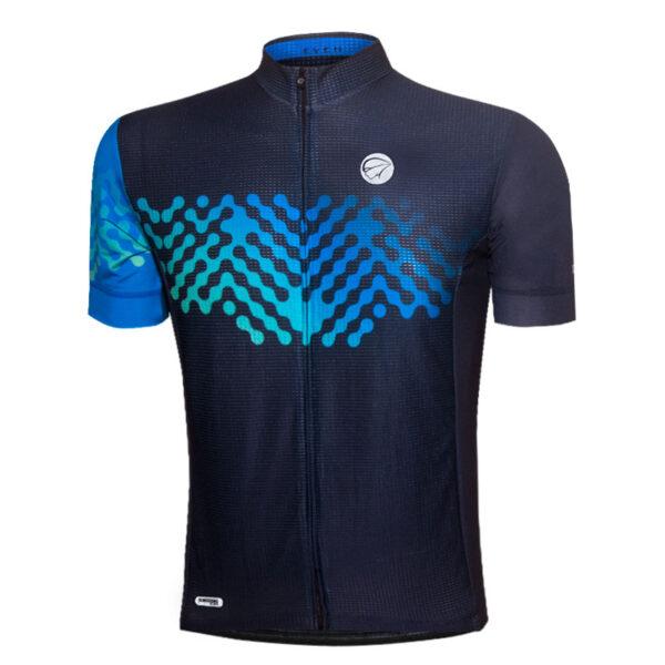 Camisa Mauro Ribeiro Even Azul F