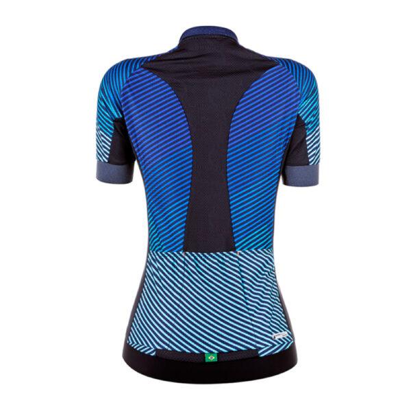 Camisa Mauro Ribeiro Flare Azul T