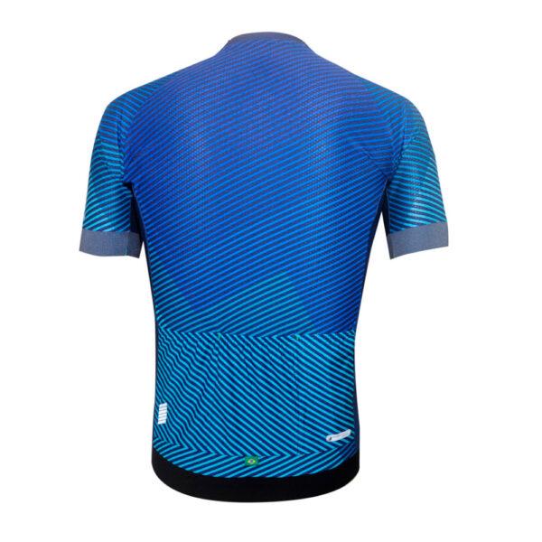 Camisa Mauro Ribeiro Plain Azul T