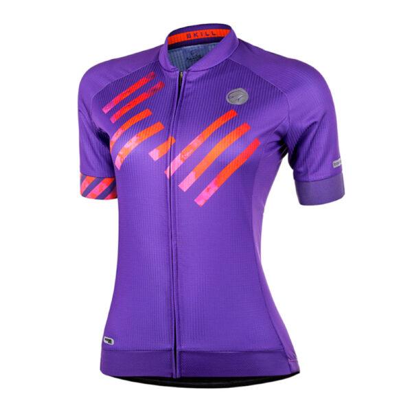 Camisa Mauro Ribeiro Skill Roxa F