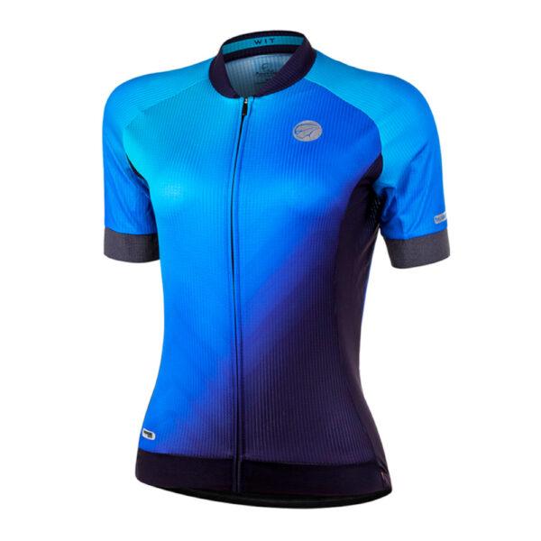 Camisa Mauro Ribeiro Wit Azul F